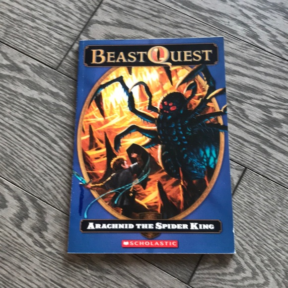 Beast Quest Arachnid The spider king book 11